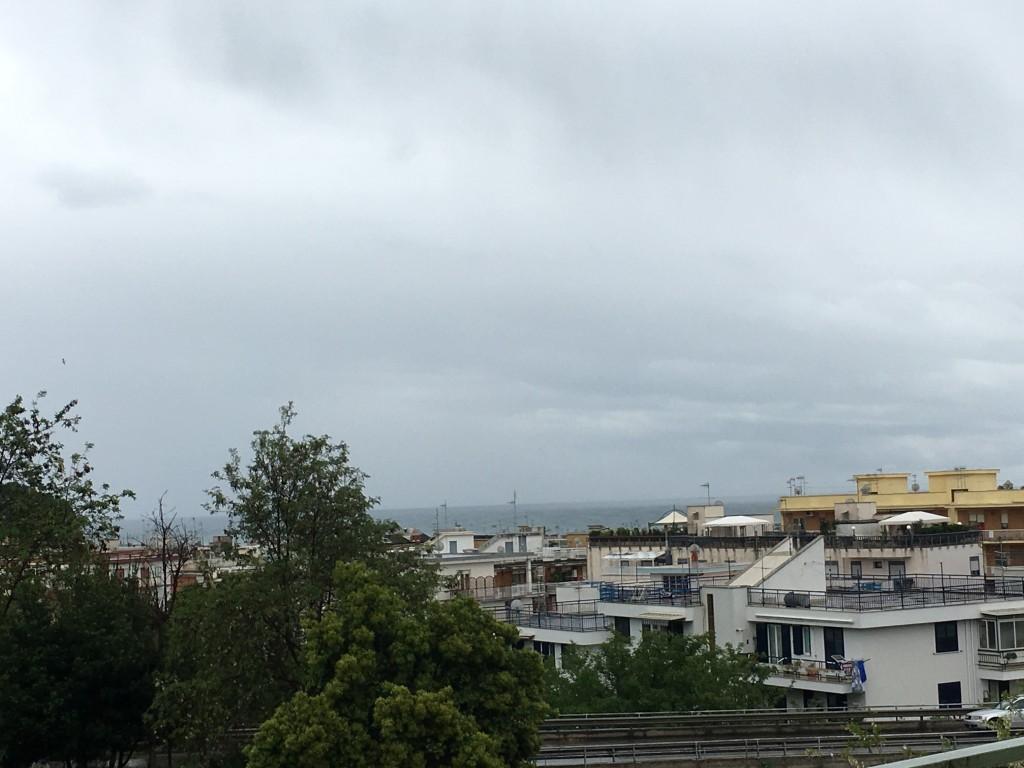 rainy italy