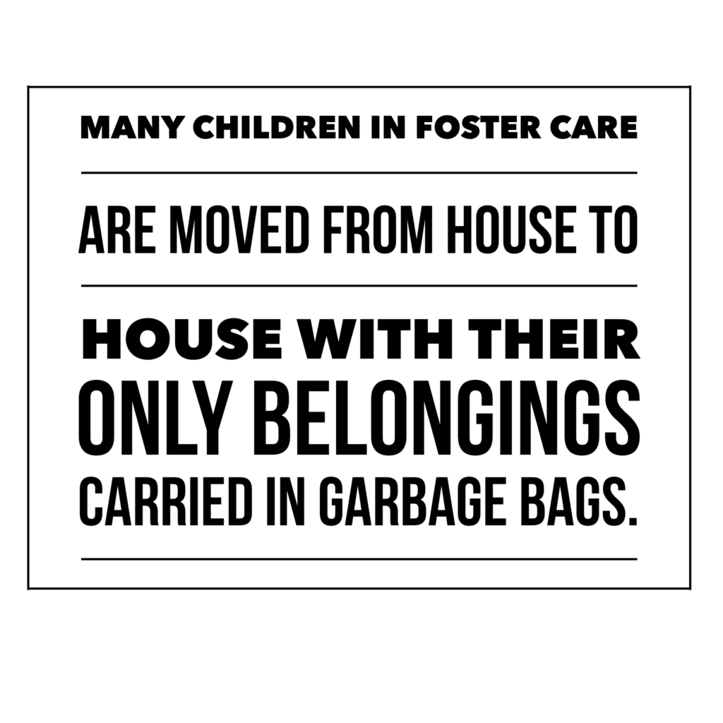 Foster Kids and Garbage Bags