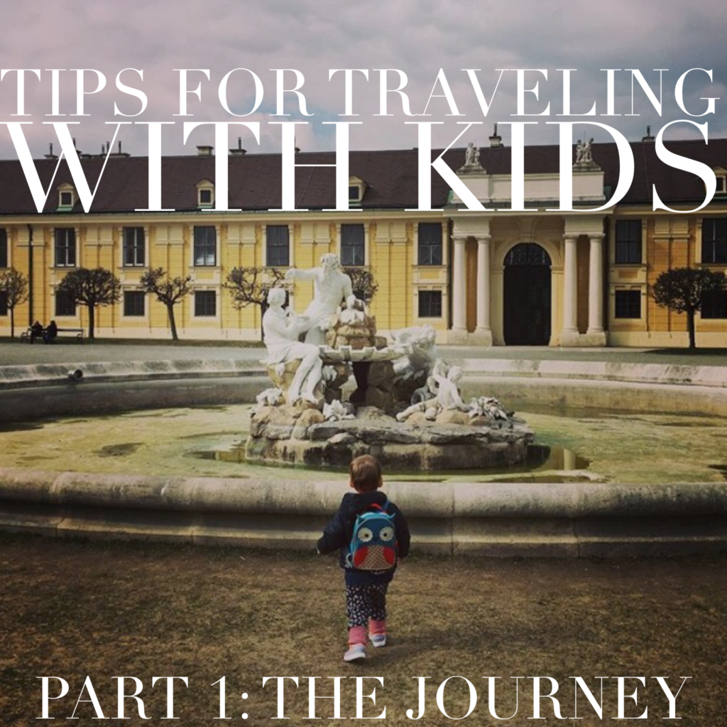 tips for traveling with kids the journey part 1