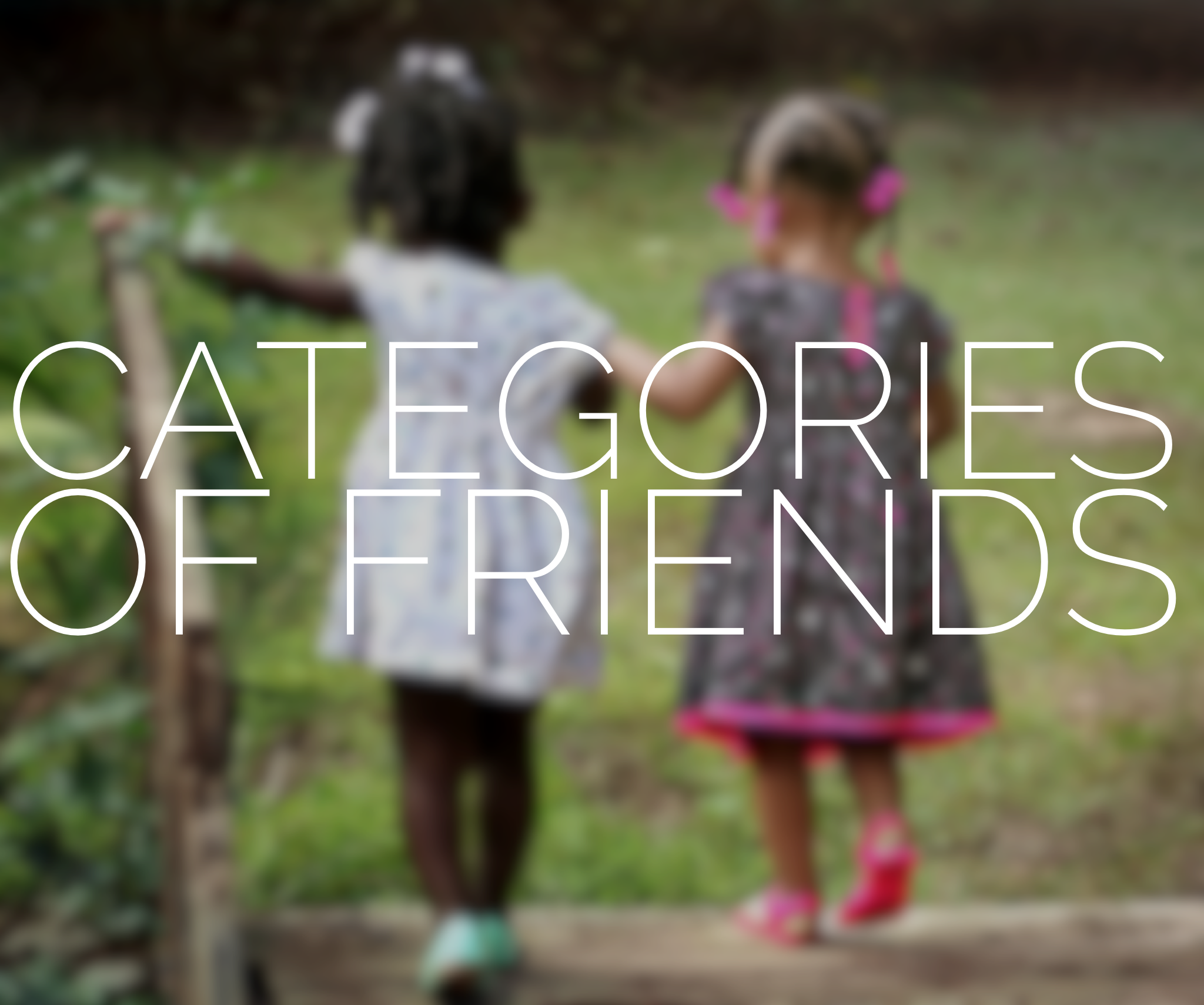 categories of friends