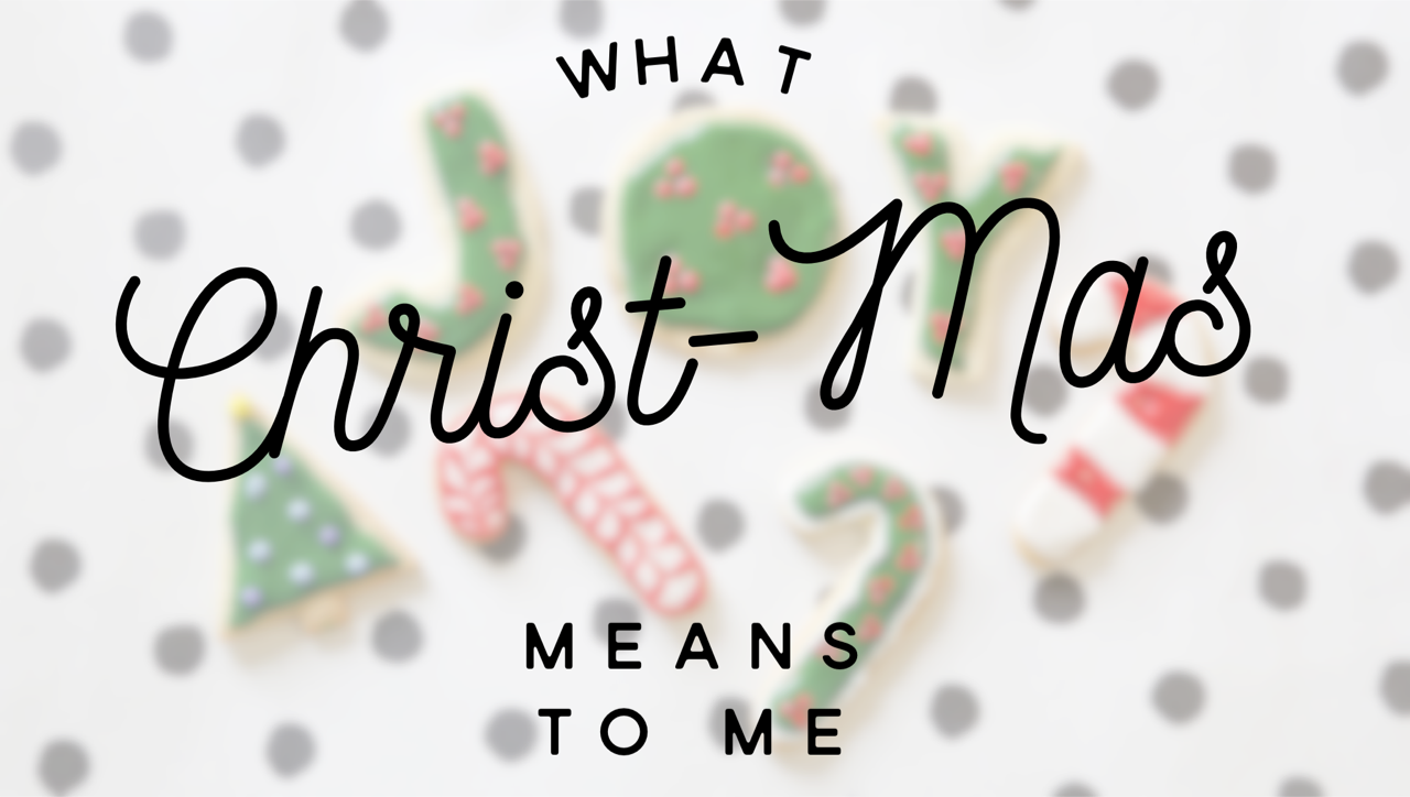 what Christmas means to me