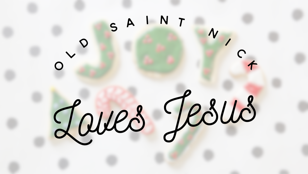 Old Saint Nick Loves Jesus: Short and Sweet Christmas Devotionals