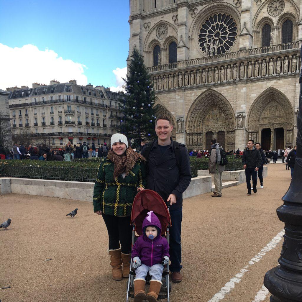 3 days in paris toddler notre dame