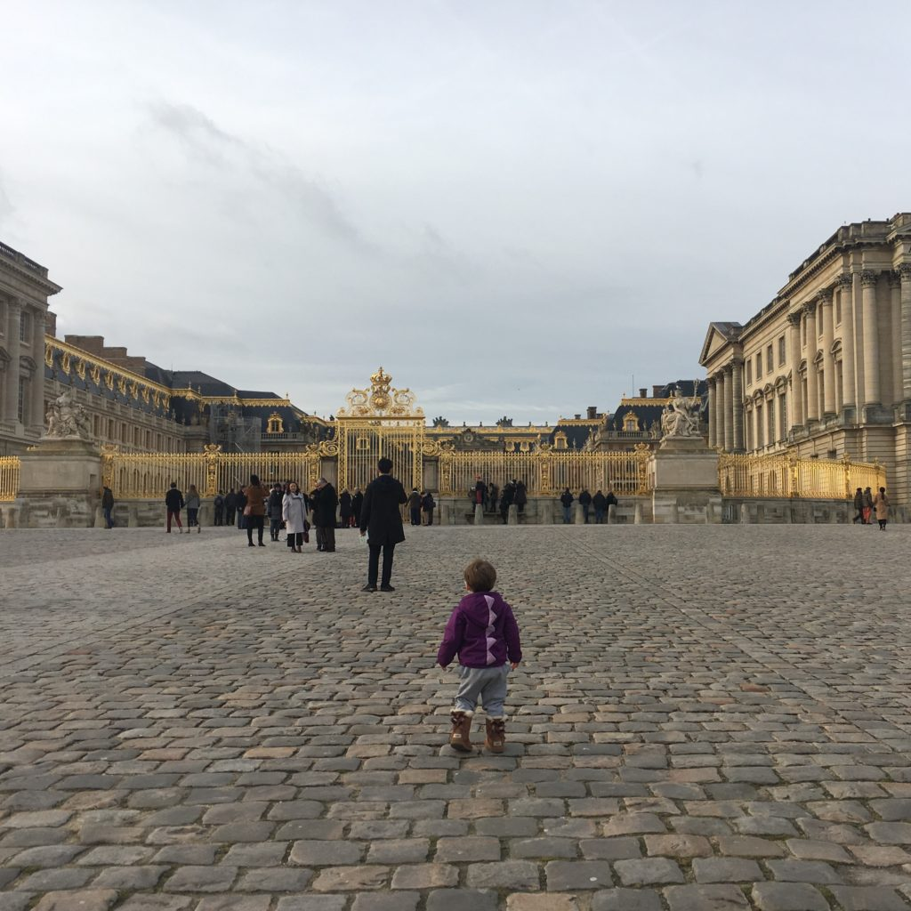 paris 3 days toddler