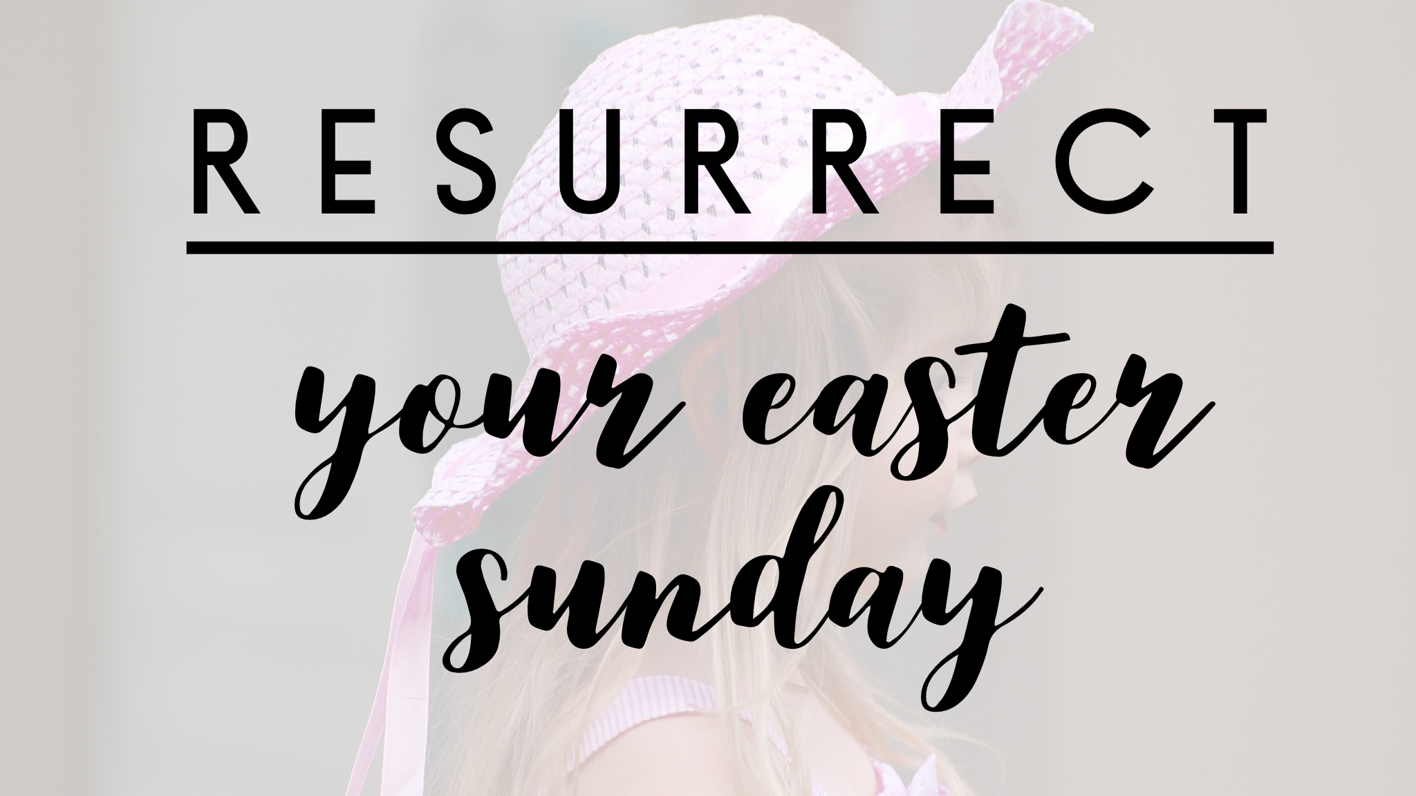 Resurrection on Easter Sunday