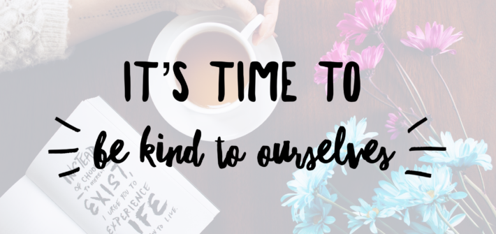 its time to be kind